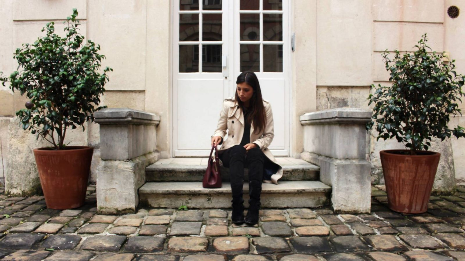 look trench cuissarde